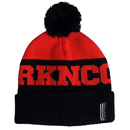Dark N' Cold Inner City Beanie Black Red