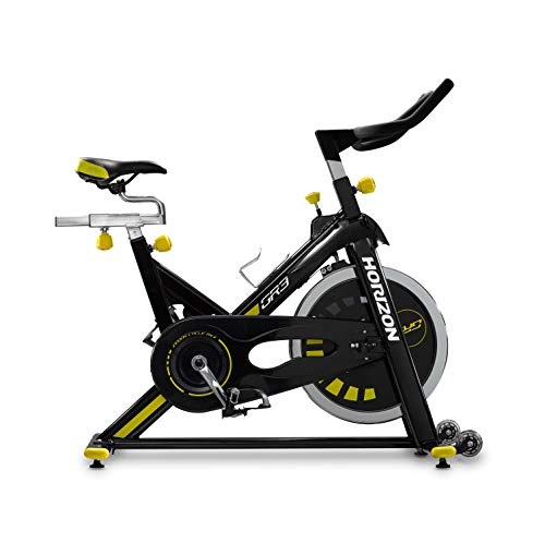 Horizon Fitness GR3 Indoor Cycle Stationary Bike. LCD Console, Adjustable Tension Control