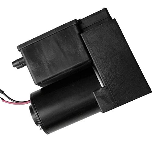 Almencla Elektrische Vakuumpumpe Kleine Kolbenluftvakuumpumpe 80Kpa 18L / MIN 1.5Bar 12V, 127x105x59mm