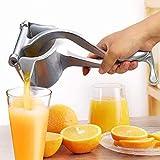 Manual Juicers,Stainless Steel Manual Fruit Juicer Portable Fruit Press Lemon Orange Squeezer Fruit Hand Squeezer Fruit Juicer Citrus Extractor Tool