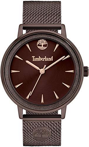 Timberland Orologio Analogueico Quarzo Donna con Cinturino in Metallo TBL15961MYBN.12MM