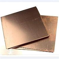 Yilei-sheet □□1pcs、99.9%銅のCu金属板プレート素敵な機械的挙動と熱安定性100×100×2mm、 腐食を防ぐ