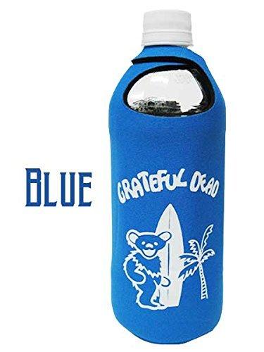 ペットボトルホルダー グレイトフルデッド/BLUE(GRATEFUL DEAD)ボトルグローブ/保冷保温/ペットボトルカバー/ドリンクホルダー/水筒/自転車/野外フ