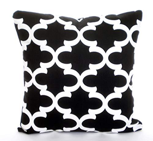 Ol322ay Zwart Wit Kussensloop Decoratieve Kussen Zwart Wit Fynn Marokkaans vierpass bank bed sofa