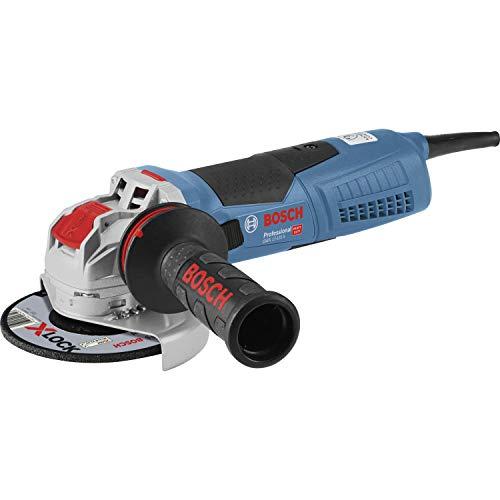 Bosch Professional 06017C4002 Smerigliatrice Angolare GWX 17-125 S per Accessori X-Lock, Ø Disco: 125 mm, Impugnatura Antivibrazione, Cuffia di Protezione, Confezione in Cartone, 1700 watts, ,