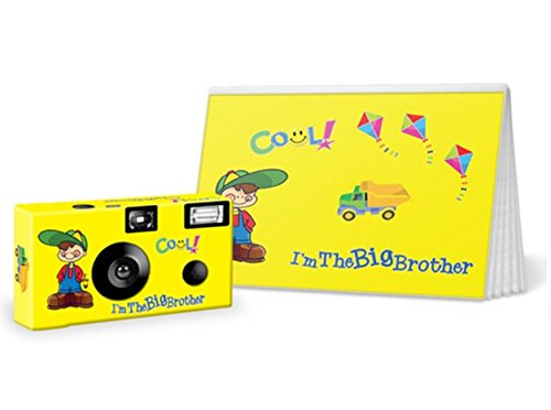 I'm The Big Brother/Big Sister Disposable Camera and Photo Book Gift Set