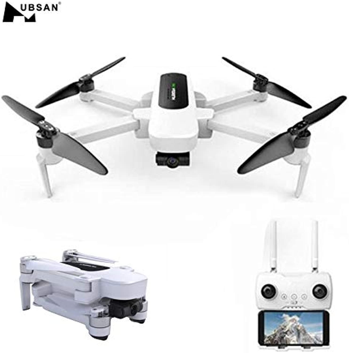 Generic in Stock Hubsan H117S Zino GPS 5.8G 1KM Foldable Arm FPV with 4K UHD Camera 3Axis Gimbal RC Drone Quadcopter RTF FPV