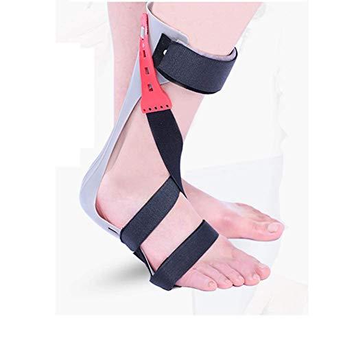 BGSFF Ortesis de pie ortopédico AFO, reposapiés Recortable de Longitud Completa Ayuda a estabilizar el Tobillo y Mantener una posición Neutral del pie, la lesión de los Nervios Alivia la