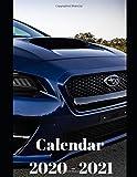 "Subaru Impreza Racing Calendar 2020-2021: Weekly Planner Calendar 2020 - 2021 Logbook Diary Gift Todo Memory Book Budget Planner Gift | Cars, Men, ... Autos | 8.5"" x 11"" (Cars calendar 2020-2021)"