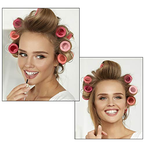 Conair Compact Multi-Size Hot Rollers, Coral