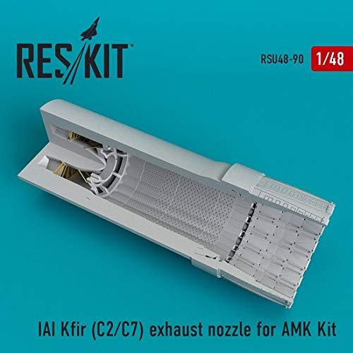 Reskit RSU48-0090 - 1/48 IAI Kfir (C2/C7) Exhaust nozzles fo AMK Scale Model kit