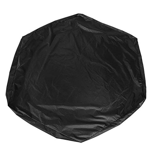 Plyisty Tear‑Resistant Durable Air Permeability Snow Proof Sandbox Cover, Sandbox Canopy, for Outdoor Sandbox(Black, 14011020cm)