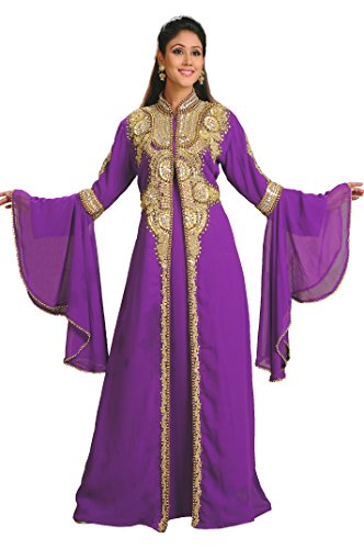 AModestStyles Women's Abaya, Kaftan, Farasha (Apparel)