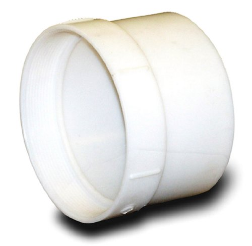 NDS 4P11 PVC Female Adapter Hub by FPT Solvent Weld Fitting, 4-Inch, White