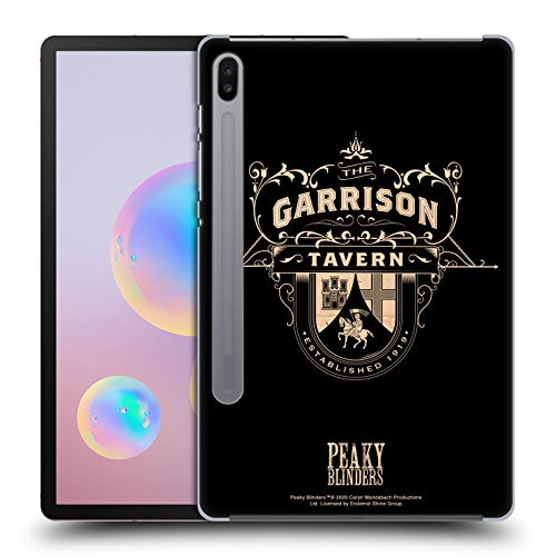 Head Case Designs Officially Licensed by Peaky Blinders Garrison Tavern Location Badges Hard Back Case Compatible with Samsung Galaxy Tab S6 (2019)