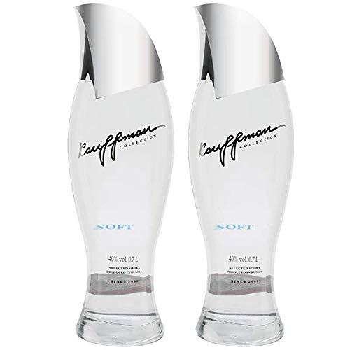 2 x Kauffman Vodka Soft 40% 0,7l Flasche