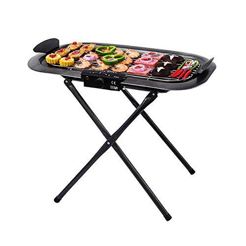 RENXR Edelstahlgrill, Holzkohlegrill, Geräucherter Grill Für Innen-Oder Außen Kochen, Wandern Camping Picknick