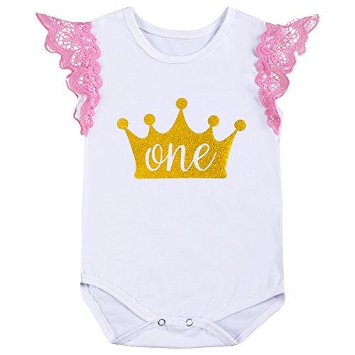 Mamelucos de bebé para niños de 6 a 18 meses, mono de algodón con estampado de letras
