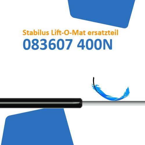 Ersatz für Stabilus Lift-O-Mat 083607 0400N