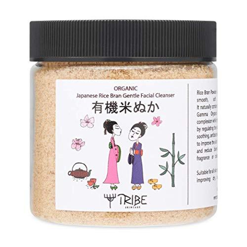 Japanese Organic Rice Bran Gentle Facial Cleanser