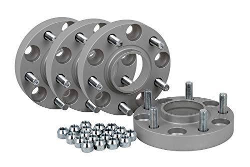 Spurverbreiterung Aluminium 4 Stück (20 mm pro Scheibe / 40 mm pro Achse) inkl. TÜV-Teilegutachten