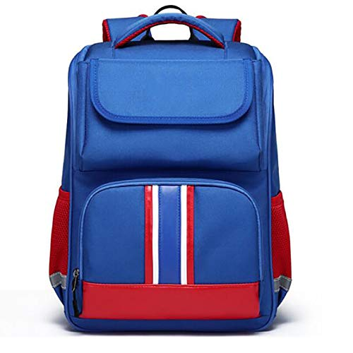 XJPGJL Fashion Backpack, Primary School Student School Bag Boys And Girls Children School Bag Burden Reduction Backpack Junior High School Students Leisure School Backpack, Pink,E