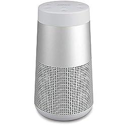 Un son profond, puissant et enveloppant avec une diffusion à 360° Le micro intégré permet de bénéficier d'une fonctionnalité mains-libres et d'une portée sans fil d'environ 9m pour les appels personnels ou les conférences téléphoniques Boîtier en al...