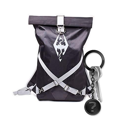 Skyrim - Dragonborn - Rucksack | Set inkl. Schlüsselanhänger
