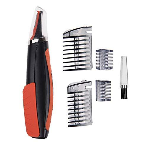 Cortapelos multifuncional, cortapelos todo en uno, ceja, oreja, recortador de nariz, recortadora, cortadora de barba, afeitadora, afeitadora eléctrica con luz LED