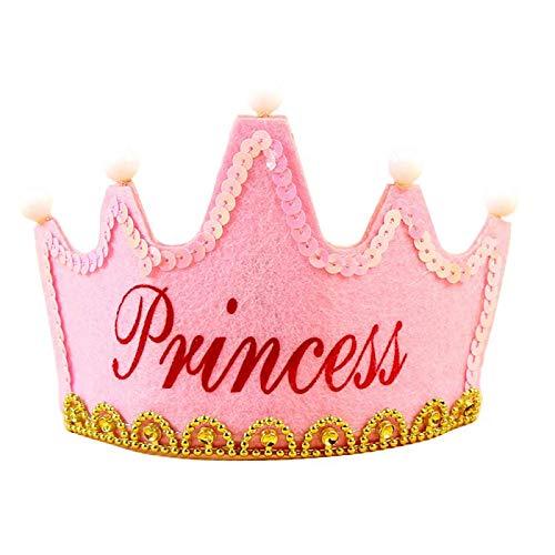 Princess Hair Crown/Hairband/Tiara/Headband for Kids & Girls/Tiaras Crowns Princess Head Band Photo...