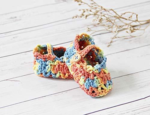 Crochet Baby Girl Cotton sandals