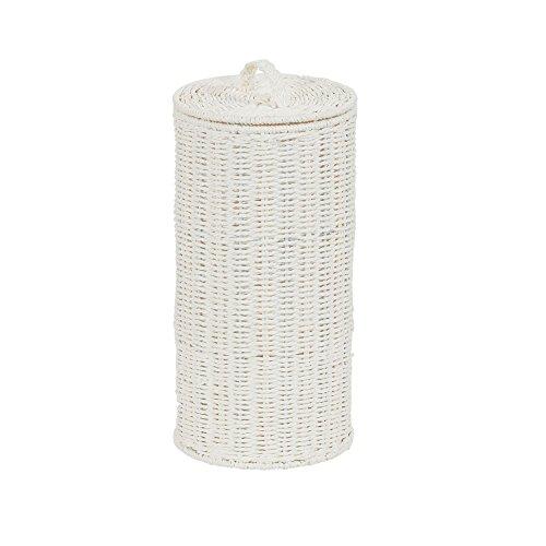 Household Essentials ML-7194 - Cuerda de Papel de Color Blanco