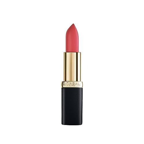 L'Oreal Paris Color Riche Matte Obsession Lipstick, 344 Retro Red, 4.8g