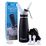 Professional Whipped Cream Dispenser - Whipped Cream Maker/Canister 500mL (1 Pint) - Aluminum...