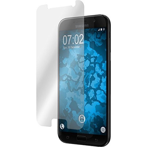 PhoneNatic 2 x Pellicola Protettiva Trasparente Compatibile con Samsung Galaxy A5 2017 Pellicole Protettive