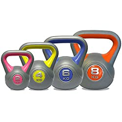 DKN Vinyl Kettlebell Weight Set