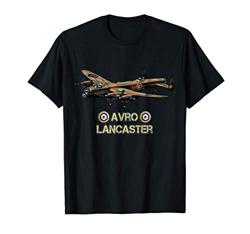 Aviones de la Segunda Guerra Mundial AVRO Lancaster Camiseta