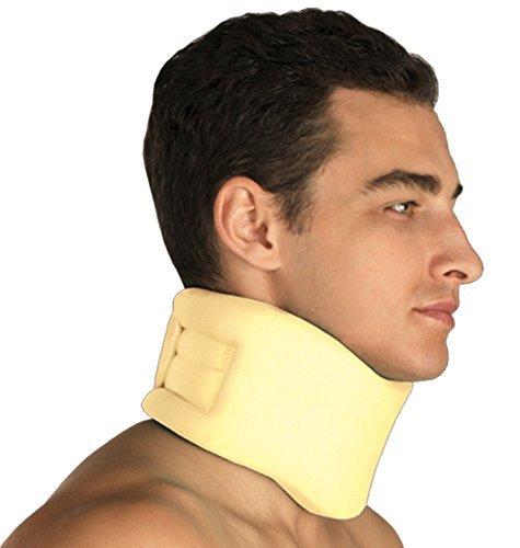 Hals-Bandage Nacken Halskrause Nackenstütze mit Klettverschluss Gr.2_10cm