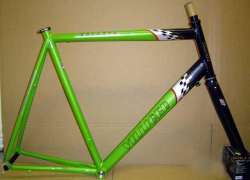 Bachata Villiger Alu 7005 28 Rennradrahmen Grösse 65 cm mit Gabel Rahmen Neu