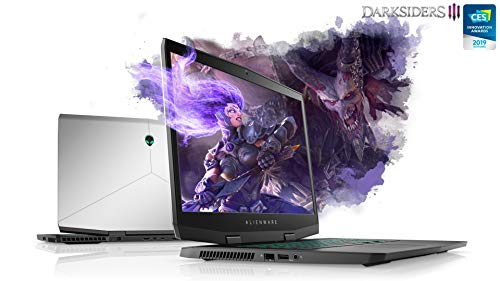 """New M17 The thinnest and lightest 17"""" Gaming Laptop 8th Gen i9-8950HK 6-Core Overclocking up to 5.0GHz 17.3"""" 4K UHD IPS NVIDIA RTX 2080 8GB GDDR6 Max-Q Design (4TB SSD 64GB RAM 10 PRO) Silver"""