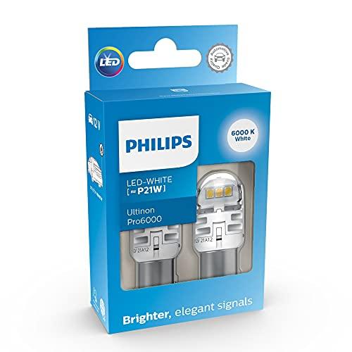 Philips Ultinon Pro6000 LED foco de señalización para automóvil (P21W white)