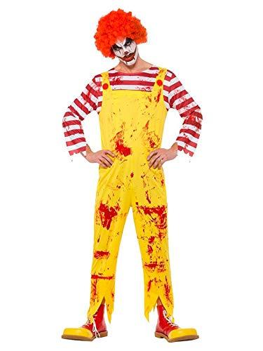 DISBACANAL Disfraz Payaso Asesino Ronald - -, L