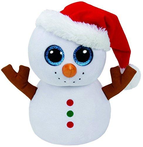 Ty TY37077 Peluche Beanie Boo's, Scoop Pupazzo di Neve, Dimensioni: 23 cm