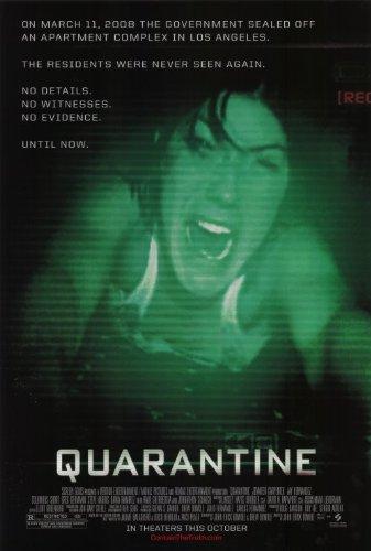 Quarantine Movie Poster (27 x 40 Inches - 69cm x 102cm) (2008) -(Jennifer Carpenter)(Columbus Short)(Johnathon Schaech)(Jay Hernandez)(Marin Hinkle)(Rade Serbedzija)