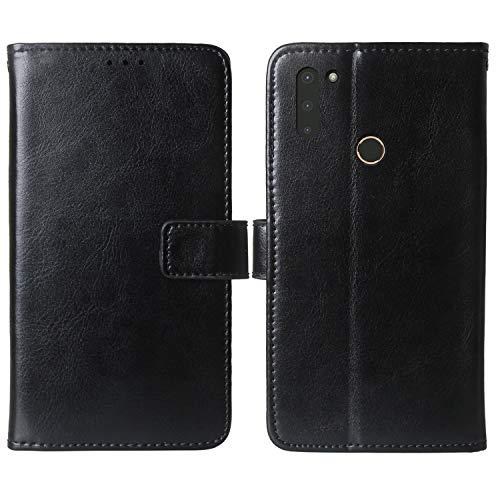 Mengtu Premium Flip Book Stand Brieftasche Leder Tasche Schütz Hülle Handy Hülle Für Gigaset GS4 / GS4 Senior 6.3