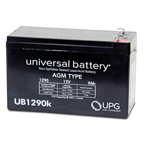 Best Deals! New UB1290 12V 9AH SLA Battery Replacement, Compatible with Stanley J6BS 300 Amp Jump St...