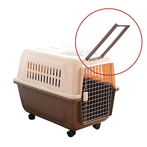 WSJF Pet Carrier,Transport Box, Dog Carrier,Pet Kennel, Car Portable Travel Seat, Suitcase Dog Cage, Pet Air Box,Kennel, Cat Cage (Size : L-66 * 47 * 53cm)
