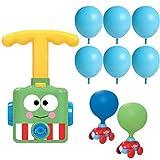 Macabolo Trägheit Power Ballon Auto, DIY aufblasbare Ballon Pumpe Hand Push Mini Kunststoff Luft...