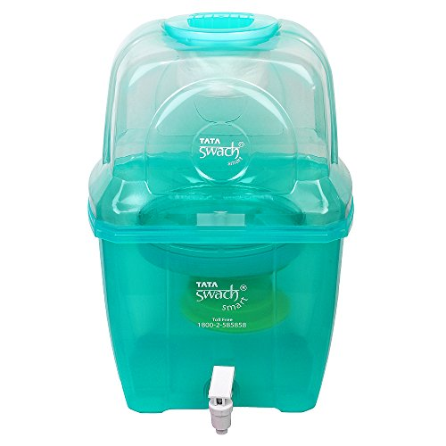 Tata Swach Non Electric Smart 15-Litre Gravity Based Fresh Green Water Purifier (Cartridge Capacity - 1500 Ltrs)