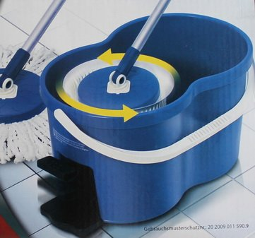 Eifa Mega Mop Reinigungssystem Wischer Wassereimer Wischmop Bodenwischer